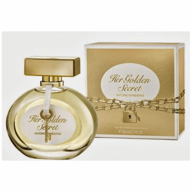 Antonio Bandreas Golden Secret Eau De Toilete 80ml