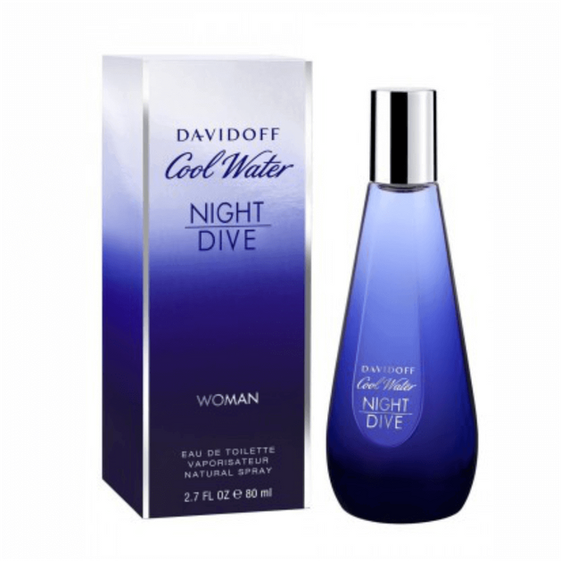 Davidoff Cool Water Night Dive Woman Eau de Toilette 80ml