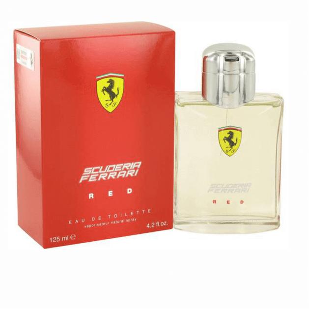 Ferrari Scuderia Red eau de toilette 125ml