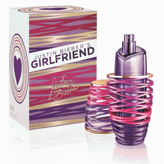 Justin Bieber Girlfriend Eau de Parfum 100ml