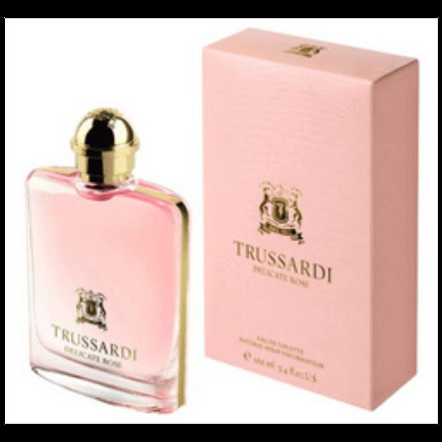 Trussardi Delicate Rose Eau De Toilette Spray 100ml