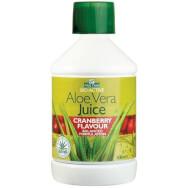 Optima Aloe Vera Juice with Cranberry 100% Φυσικός Χυμός Αλόης με Αντιοξειδωτικά 500ml