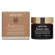 Queen Bee Holistic Age Defence Day Cream With Greek Royal Jelly in Liposomes Rich 50ml - Apivita,Κρέμα Ημέρας Ολιστικής Αντιγήρα