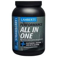 Lamberts Performance All In One Συμπλήρωμα Διατροφής Πρωτεΐνης Ορού Γάλακτος σε Σκόνη 1450g