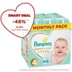 Pampers Premium Care Monthly Pack No4 Maxi (9-14kg) 168 πάνες