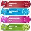 Durex Surprise Me Premium Variety Pack Ποικιλία με Επιλεγμένα Προφυλακτικά σε Premium Κασετίνα 40 τεμάχια