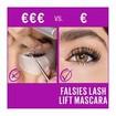 Maybelline The Falsies Lash Lift Mascara Black Μάσκαρα για Εφέ Lifting στις Βλεφαρίδες 9.6ml