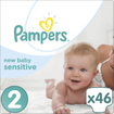Pampers New Baby Sensitive Mini No2 (3-6kg) 46 Πάνες