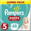 Pampers Pants Jumbo Pack Νο5 (12-17kg) 48 πάνες