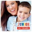 Oral-B Junior Smart Επαναφορτιζόμενη Ηλεκτρική Οδοντόβουρτσα με Αισθητήρα Πίεσης & Σύνδεση Bluetoth, από 6 Χρονών 1 Τεμάχιο