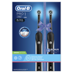 Oral-B Pro 1 790 Black Edition Cross Action Ηλεκτρική Οδοντόβουρτσα για Βαθύ Καθαρισμό 2 Τεμάχια