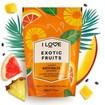 I Love...Exotic Fruits Scented Bath Salts Άλατα Μπάνιου με Υπέροχο Άρωμα από Εκχυλίσματα Φρούτων 500gr