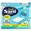 Sani Sensitive Fresh Bedpads Extra Large Υποσέντονα Διακριτικά Αρωματισμένα 90x60cm 15τμχ