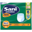 Sani Sensitive Pants Medium No.2 Ελαστικό Εσώρουχο Ακράτειας  14τεμάχια