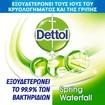 Dettol All in One Spray Spring Waterfall Απολυμαντικό Αντιβακτηριδιακό Σπρέι για Σκληρές & Μαλακές Επιφάνειες 400ml