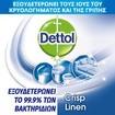 Dettol All In One  Spray Crisp Linen Απολυμαντικό Σπρέι για Σκληρές & Μαλακές Επιφάνειες 400ml