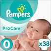 Pampers ProCare Premium Protection No0 (1-2.5kg) 38 πάνες, μόνο 0,25 € / πάνα