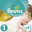 Pampers Premium Care No1 Newborn (2-5kg) 41 πάνες