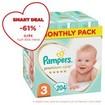 Pampers Premium Care Monthly Pack Νο3 (6-10kg) 204 πάνες