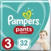 Pampers Pants No3 (6-11kg) 32 πάνες