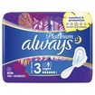 Always Platinum Σερβιέτες Μέγεθος 3 Night 6τμχ