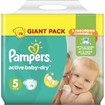 Pampers Active Baby Dry Giant Pack No5 (11-18kg) 78 πάνες