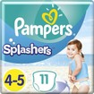 Pampers Splashers No4-5 (9-15kg) 11 πάνες