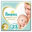 Pampers Premium Care No2 (4-8kg) 23 πάνες