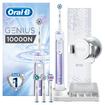 Oral-B Genius 10000 N Orchid Purple Προηγμένη Ηλεκτρική Οδοντόβουρτσα με 6 Διαφορετικά Προγράμματα Καθαρισμού, Σύνδεση Bluetooth
