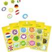 MosquitNo Trendy Citronella SpotZzz Mix Αυτοκόλλητα με Άρωμα Σιτρονέλλας σε Διάφορα Σχέδια & Χρώματα 1 Τεμάχιο (6 Αυτοκόλλητα)