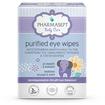 Pharmasept Baby Purified Eye Wipes Αποστειρωμένα Μαντηλάκια για τον Καθαρισμό της Οφθαλμικής Περιοχής & των Βλεφάρων 10Τεμάχια