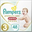 Pampers Premium Care Pants Jumbo Pack No3 (6-11kg) 48 πάνες