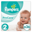 Pampers ProCare Premium Protection No2 (3-6kg) 36 πάνες, μόνο 0,26 € / πάνα
