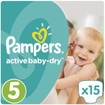 Pampers Active Baby Dry No5 (11-18kg) 15 πάνες