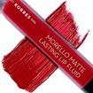 Korres Morello Matte Lasting Lip Fluid Υγρό Κραγιόν Μεγάλης Διάρκειας για Τέλειο Ματ Αποτέλεσμα & Απόλυτη Άνεση στα Χείλη 3.4ml