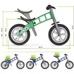 FirstBIKE Ποδήλατο Ισορροπίας Από 22 Μηνών Έως 5 Ετών σε Χρώμα Πράσινο