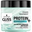 Schwarzkopf Gliss Power Treatment Protein With Cocoa Butter Μάσκα Ενυδάτωσης για Ξηρά και Ταλαιπωρημένα Μαλλιά 400ml