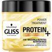 Schwarzkopf Gliss Power Treatment Protein With Karite Butter Μάσκα Μαλλιών για Αδύναμα και Ταλαιπωρημένα Μαλλιά 400ml