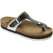 Scholl Shoes Idylla Άσπρο-Μαύρο Γυναικεία Ανατομικά Παπούτσια Χαρίζουν Σωστή Στάση & Φυσικό Χωρίς Πόνο Βάδισμα 1 Ζευγάρι