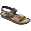 Scholl Shoes Mamore Σκούρο Καφέ-Καφέ Γυναικεία Ανατομικά Παπούτσια Χαρίζουν Σωστή Στάση & Φυσικό Χωρίς Πόνο Βάδισμα 1 Ζευγάρι