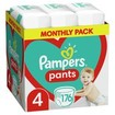 Pampers Pants Monthly Pack Νο4 (9-15kg) 176 πάνες