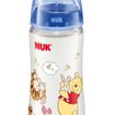 Nuk First Choice Winnie the Pooh Πλαστικό Μπιμπερό με Θηλή Σιλικόνης Μεγέθους 1 (0-6 Μηνών) 300ml