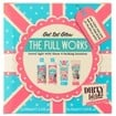 Dirty Works The Full Works Get Set Glow Travel Set