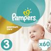 Pampers Premium Care No3 (6-10kg) 60 πάνες