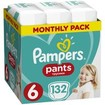 Pampers Pants Monthly Pack No6 (15+kg) 132 πάνες