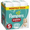Pampers Pants Monthly Pack No5 (12-17kg) 152 πάνες