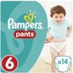 Pampers Pants No6 (15+kg) 14 πάνες