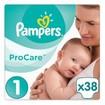 Pampers ProCare Premium Protection No1 (2-5kg) 38 πάνες