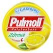 Pulmoll Καραμέλες για τον Βήχα με Λεμόνι & Βιταμίνη C,  Καταπραΰνουν το Λαιμό & το Φάρυγγα, Χωρίς Ζάχαρη 20gr