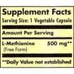 Solgar L-Methionine 500mg 30 veg.caps